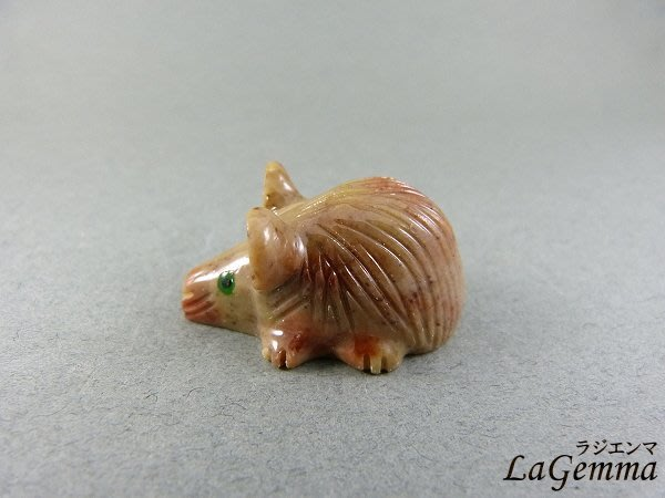 ☆寶峻水晶☆特價190元/個~碧玉祕魯動物雕刻 老鼠 可愛動物擺飾, 紙鎮 AN 多款可選