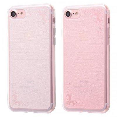 尼德斯Nydus 日本正版 特殊加工 透明雕花 TPU 軟殼 手機殼 4.7吋 iPhone7