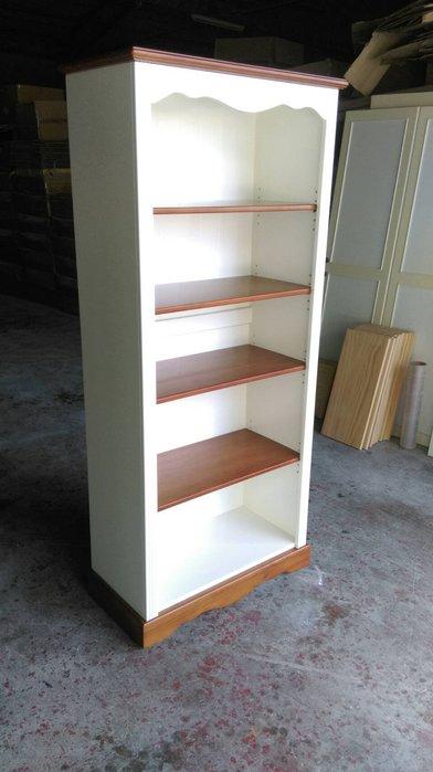美生活館--鄉村家具訂製 客訂 全原木 雙色 開放書櫃 置物櫃.收納櫃 玄關櫃 隔間櫃 --也可修改尺寸與顏色再報價