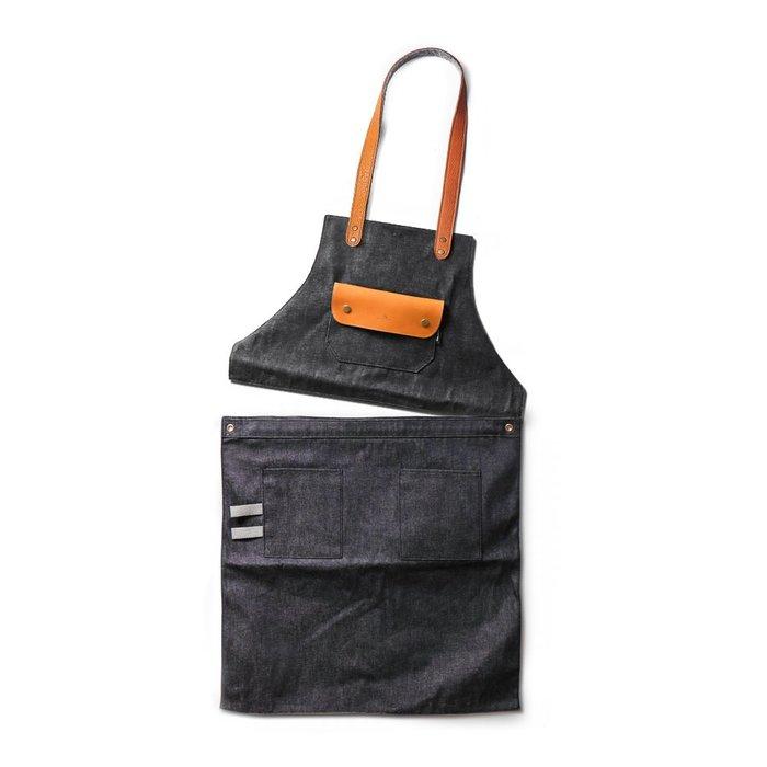 點子包【icleaXbag】二代變形工作圍裙(脖掛式) 全身半身兩用穿 工作服 DG01-T01