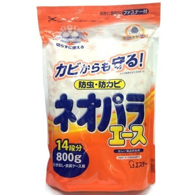 *美麗研究院*日本 愛詩庭 (雞仔牌) 便利防蟲劑 800g 約100包