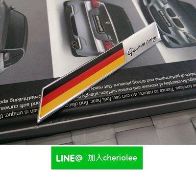 德國旗 GERMANY 鋁貼標 M-Benz A180 B180 CLA180 CLA200 GLC250 E200