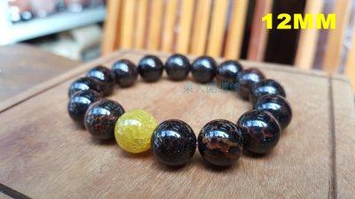 西藏瑪卡石天珠材質手鍊手珠黃金龍麟玉髓...