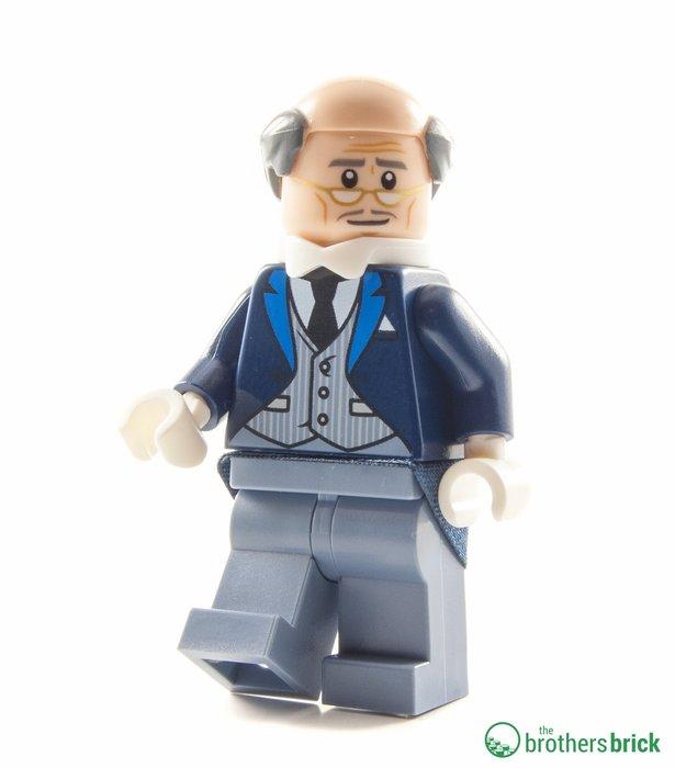 現貨【LEGO 樂高】全新正品 積木/ 蝙蝠俠電影系列: 蝙蝠洞 70909   單一人偶: 管家阿福 ALFRED