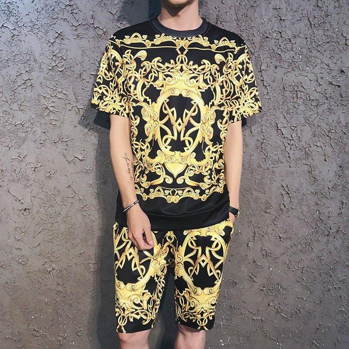 Mr.K - 3D 視覺衝突  印花 短袖 套裝 九款  2套1800