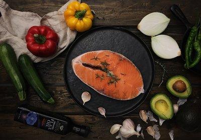 鮮鱻本舖  鮭魚切片真空包