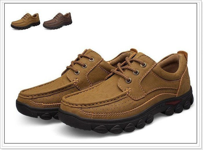 【B.STAR】《ZL017》秋冬新款 駱駝大尺碼休閒皮鞋 戶外登山靴 任搭兩款免運優惠