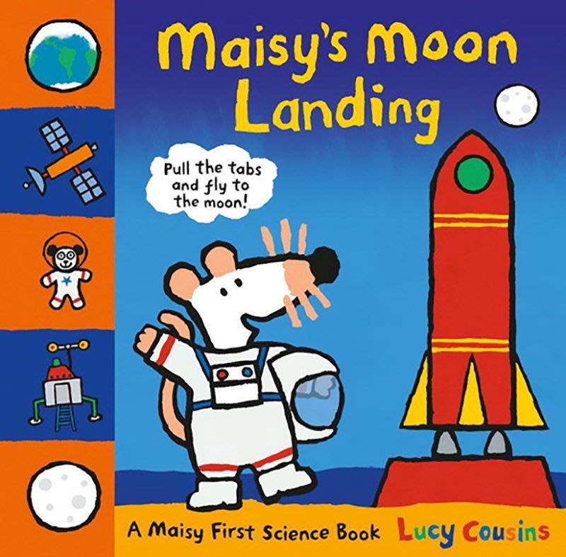 MAISY'S MOON LANDING /精裝操作書 maisy