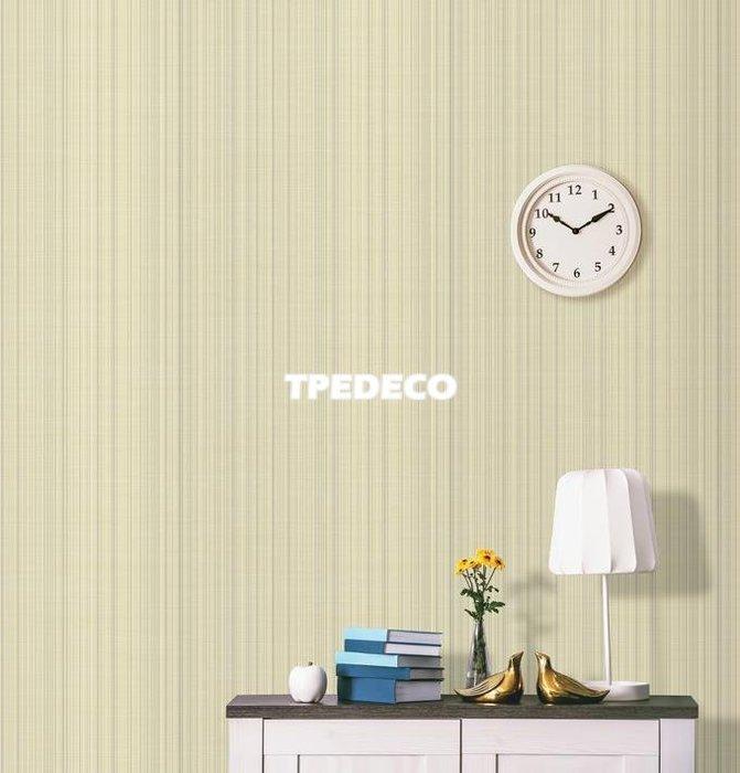 【大台北裝潢】PT馬來西亞現貨壁紙* 環保建材 仿織品 直條素色(3色) 每支580元