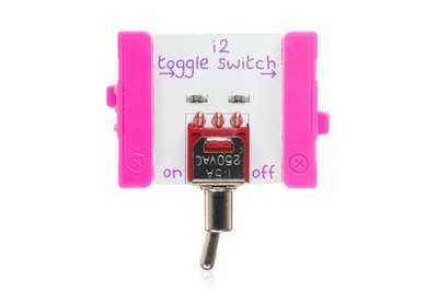 美國 littleBits 零件 (input): TOGGLE SWITCH (8折出清)
