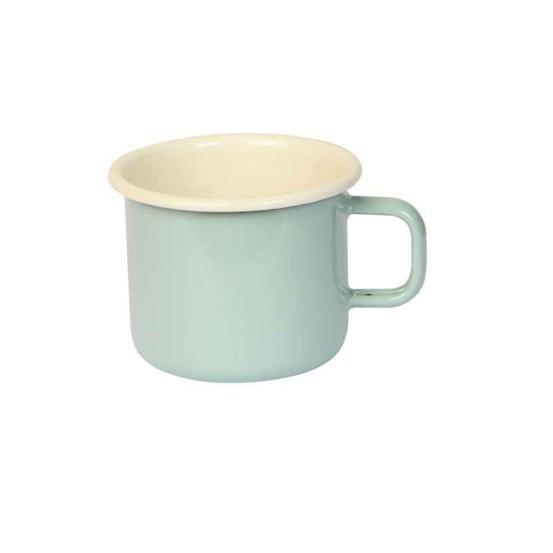 琺瑯 espresso 馬克杯 dexam 英國進口 湖水綠色