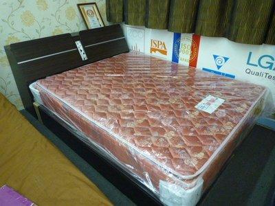 尊爵床墊   英式獨立筒床墊+床底雙人5尺6分木心板(無邊框)全封底+雙人保潔墊