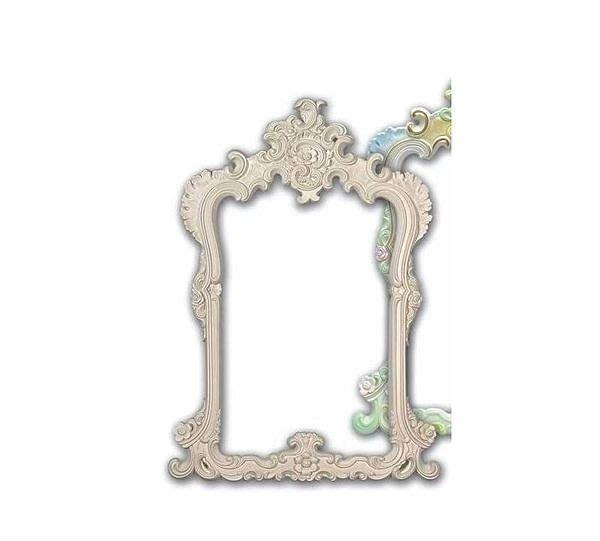 居家藝術,婚紗攝影 相框鏡框 [ 白色底漆款 pu大型浮雕 空框 ]- MF-11102外框133x96cm $9880