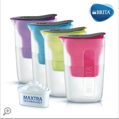 【清淨淨水店】德國BRITA fill&enjoy FUN/ 酷樂濾水壺 /酷樂壺1.5L,4色可選1壺1芯價780元。