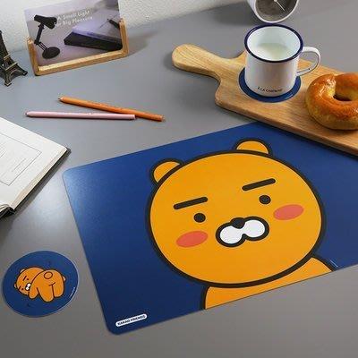 TOUCH-KR 韓國 KAKAO FRIENDS 2個桌墊 + 2個杯墊│套裝組│z7475