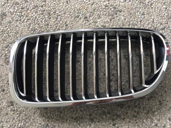 阿勳精品}~ BMW F10 F11 全新 電鍍 水箱護罩 水箱罩..內網直條電鍍,內網黑色.一對價
