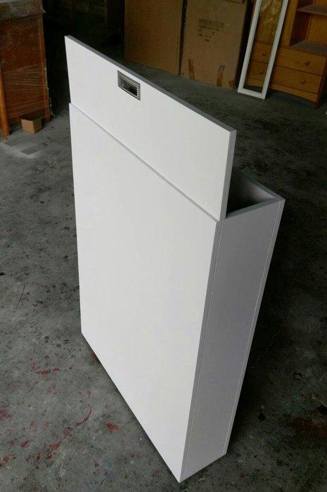 美生活館 客訂 床頭收納箱 上掀式 壁樑櫃 閃樑櫃 訂尺寸寬100 深35 高90 公分, 上掀單門