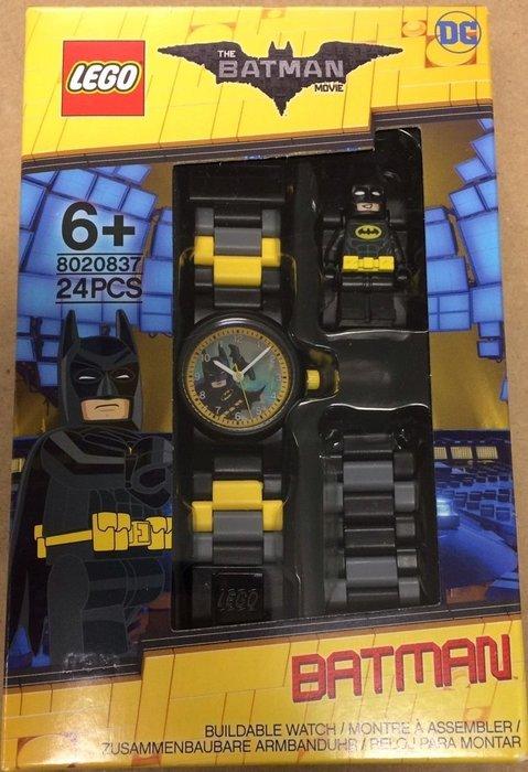 美版盒損現貨【LEGO 樂高】2017年最新/ 蝙蝠俠電影 蝙蝠俠手錶 黑暗騎士 Batman 人偶手錶 公仔 含原廠盒