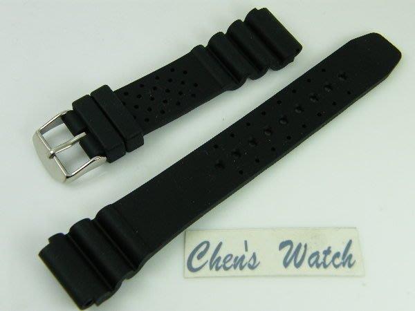 錶帶屋 18mm 22mm  橡膠運動錶帶 替代SEIKO CITIZEN EPOS 現貨商品