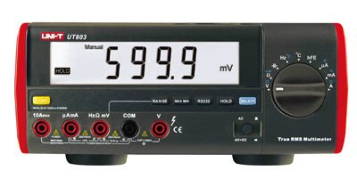 TECPEL 泰菱》UNI-T 優利德 UT803 桌上型電錶 桌上型電表 電表 可接電腦 UT-803