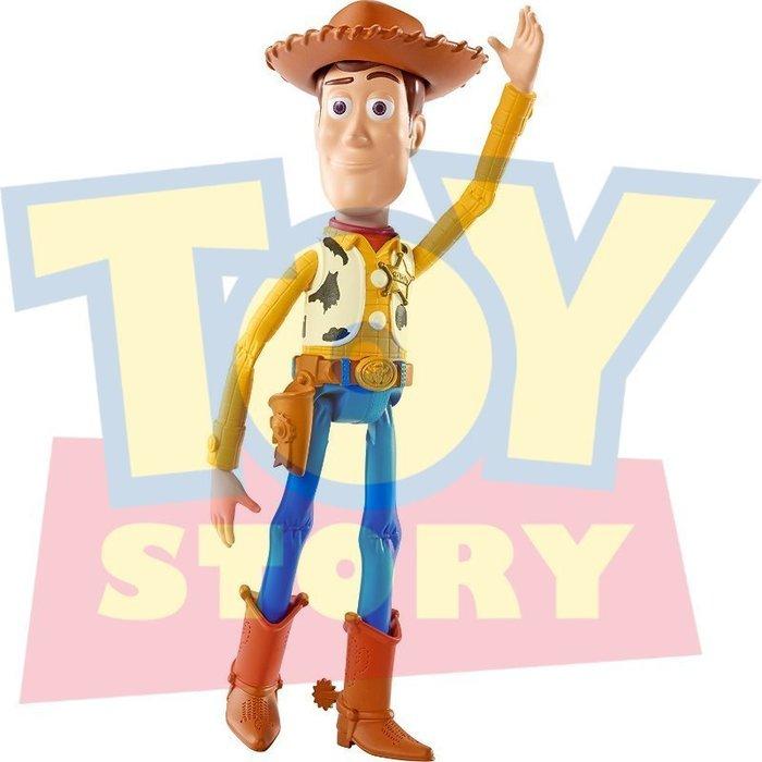 現貨免運【迪士尼 Disney Pixar】全新正品 玩具總動員 胡迪 Woody【會說話電影版】高約20公分