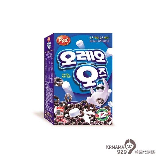 KRmama929~【現貨】OREO 棉花糖巧克力麥片 500g (另有250g小包裝)
