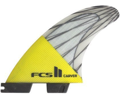 衝浪板舵 FCS II Carver PC Carbon Tri Set-M