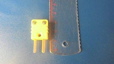 TECPEL 泰菱 》TPK-01M K型熱耦線用連接公座 小公座 熱電藕線插頭 公座 熱偶線插頭
