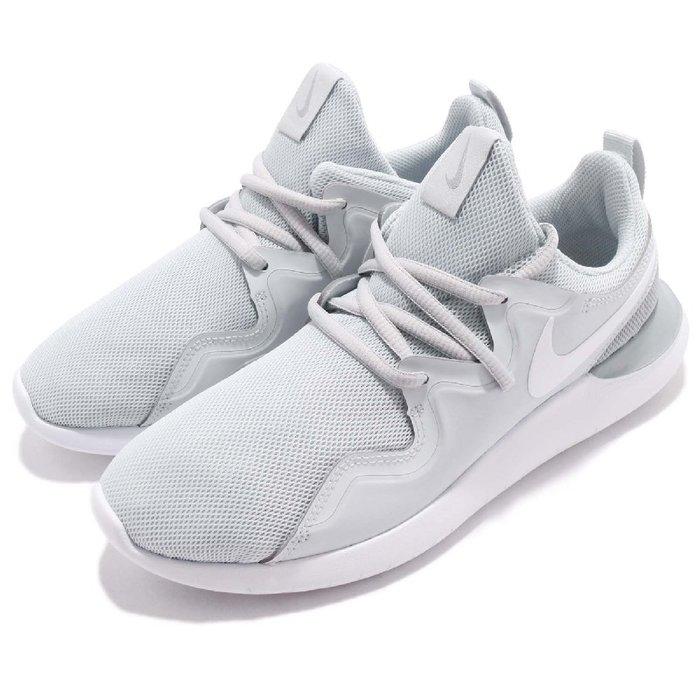 =CodE= NIKE WMNS TESSEN 透氣網輕量慢跑鞋(灰白)AA2172-002 訓練 ROSHE ONE女