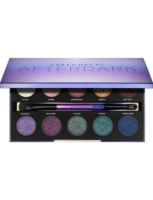【愛來客 】新款美國URBAN DECAY After-dark Eyeshadow Palette 10色眼影盤