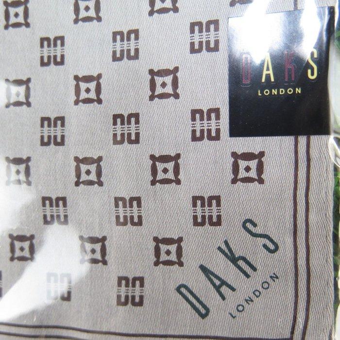 【iSport代購】日本代購 DAKS 英國專櫃品牌 日本製100%綿 經典紳士領巾手帕 1057031203