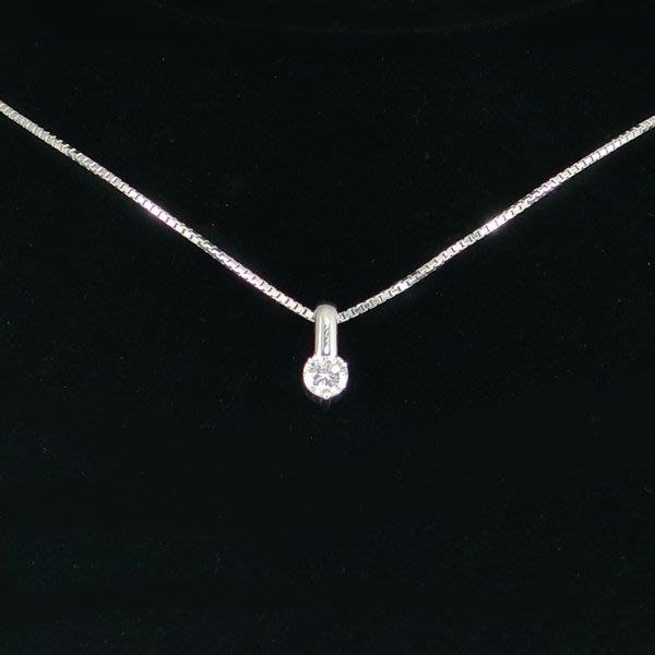 【JHT金宏總珠寶/GIA鑽石專賣】天然鑽石墜鍊D:0.37ct/PT900(JB35-B27)