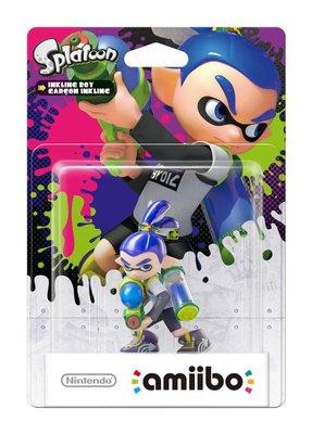 【預購商品】任天堂 Amiibo NFC 漆彈大作戰 藍色男孩 漆彈男孩 Blue Boy 6月中旬到貨【台中恐龍電玩】