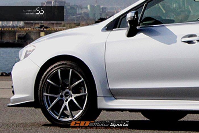 RAYS WALTZ FORGED S5 Comfort Model 鍛造鋁圈 經典再進化 5x114.3 / 制動改