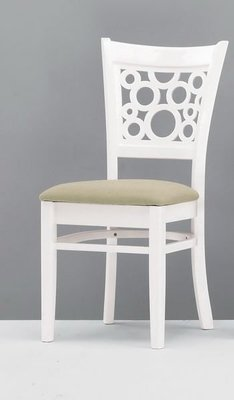 【DH】貨號G451-13《艾琪》實木布面餐椅/休閒椅/單人椅˙質感一流˙簡約設計˙主要地區免運