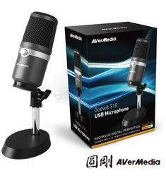 【開心驛站】圓剛 AM310 黑鳩 高音質USB麥克風 直播