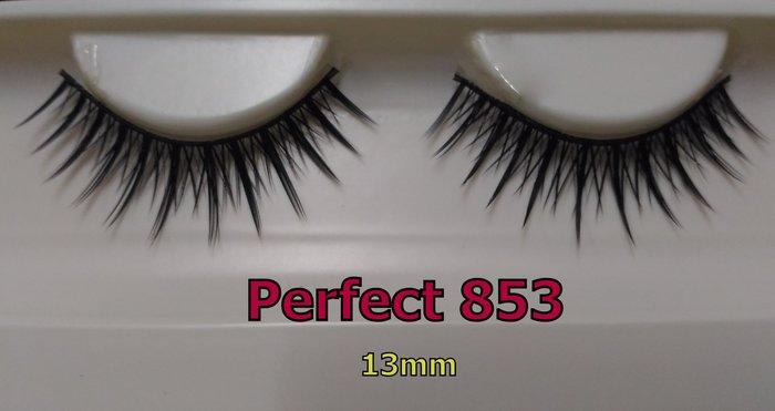No.853貴夫人/Perfect假睫毛Perfect Eyelash睫毛部落手工編織假睫毛/電眼藝人美妝師婚紗造型最愛