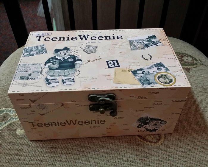 美生活館 全新 鄉村 田園 可愛學生熊 音樂 手飾盒 收納盒 珠寶盒 置物盒 店面 民宿 婚禮佈置 交換禮物 自用