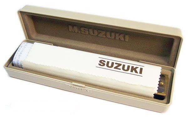 【六絃樂器】全新日本 Suzuki SU-24 C調複音口琴 / 現貨特價