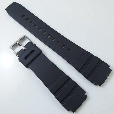 錶帶屋 便宜超值 18mm 20mm 22mm柔軟防水 PVC 橡膠錶帶替代CASIO卡西歐等各品牌潛水 運動手錶
