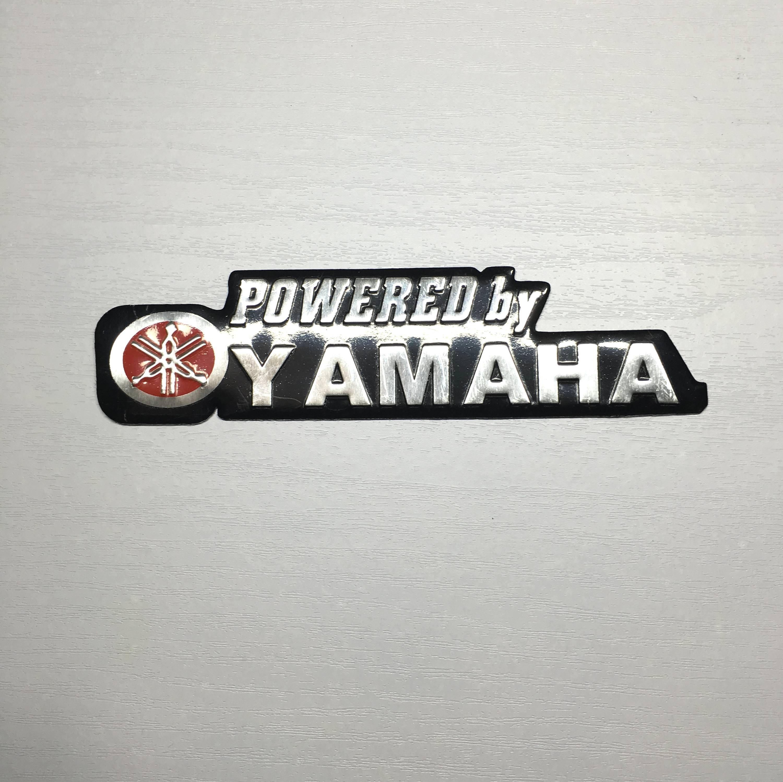 【SPSP】YAMAHA 山葉 3D車貼 鋁 DIY車貼 重機貼紙 重機車貼 機車車貼 立體車貼 車身貼紙 改裝