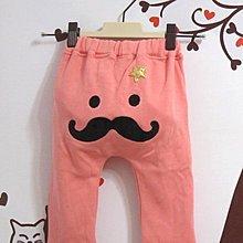 ~ ~65%棉質內刷毛雙口袋星星鬍子休閒褲 棉褲 長褲 學習褲 粉色 4 ~甜蜜小舖~sw