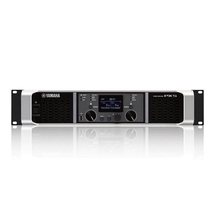 【六絃樂器】全新 Yamaha PX5 數位功率擴大器 / 舞台音響設備 專業PA器材