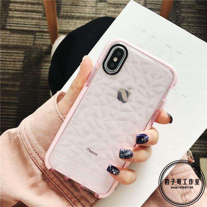 簡約 韓國正韓 百搭 超美簡約透明防摔蘋果X手機殼iPhone7plus 8 6s全包硅膠
