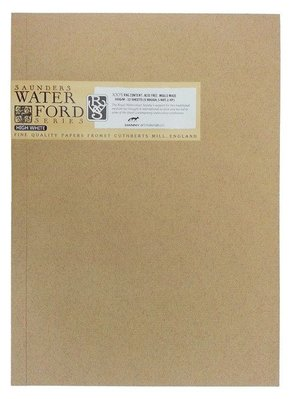 【Artshop美術用品】英國 山度士 WATERFORD 超白水彩本 300g (8K) 膠裝12入 #20