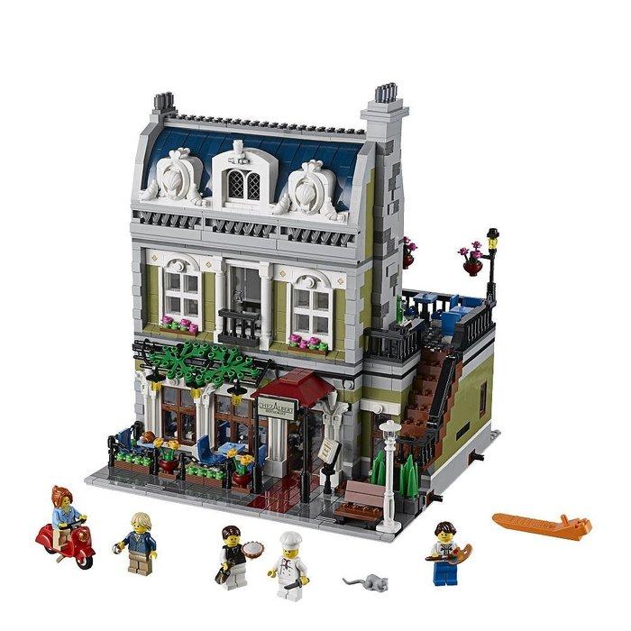 【美國正品樂高LEGO】樂高Lego 10243 Parisian Restaurant 巴黎餐廳*無盒含運$6900*