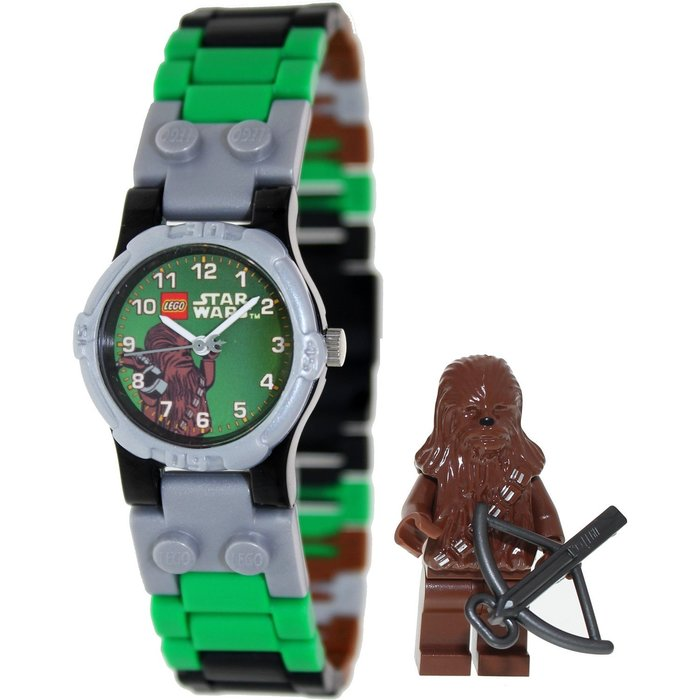 現貨【LEGO 樂高】100% 全新現貨/ 丘巴卡手錶 星際大戰 丘巴卡 Chewbacca 人偶手錶 公仔 含原廠盒