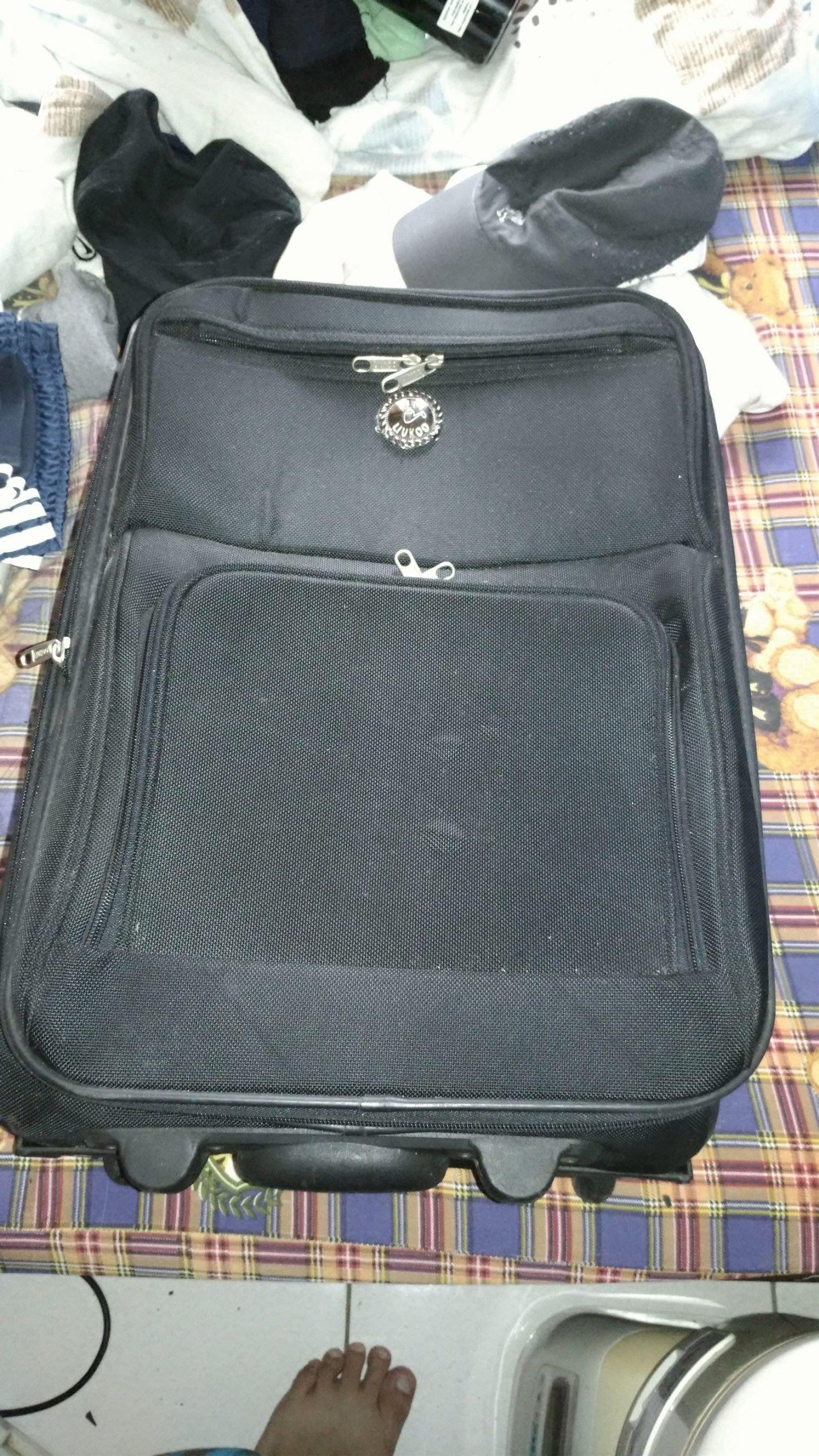 煙斗牌,行李箱,20吋,兩輪