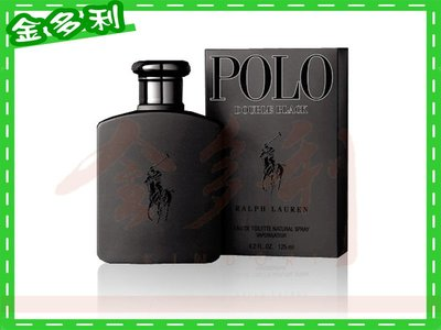 【金多利美妝】Ralph Lauren Polo Double Black 雙黑馬球男香 7ml NT$229