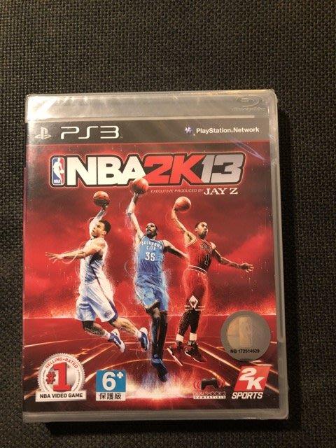 (全新未拆封)SONY PS3 NBA 2K13 遊戲光碟(原價1790元)